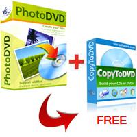 PhotoDVD + CopyToDVD free